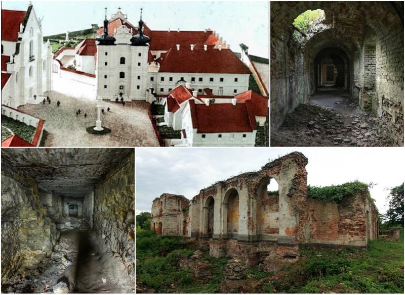 коллаж, Бернардинский монастырь