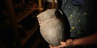 глина, керамика, сувениры, из глины, посуда, печь