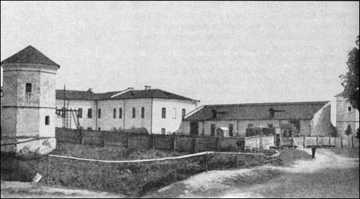 Быхаўскі замак. Здымак 1905 года
