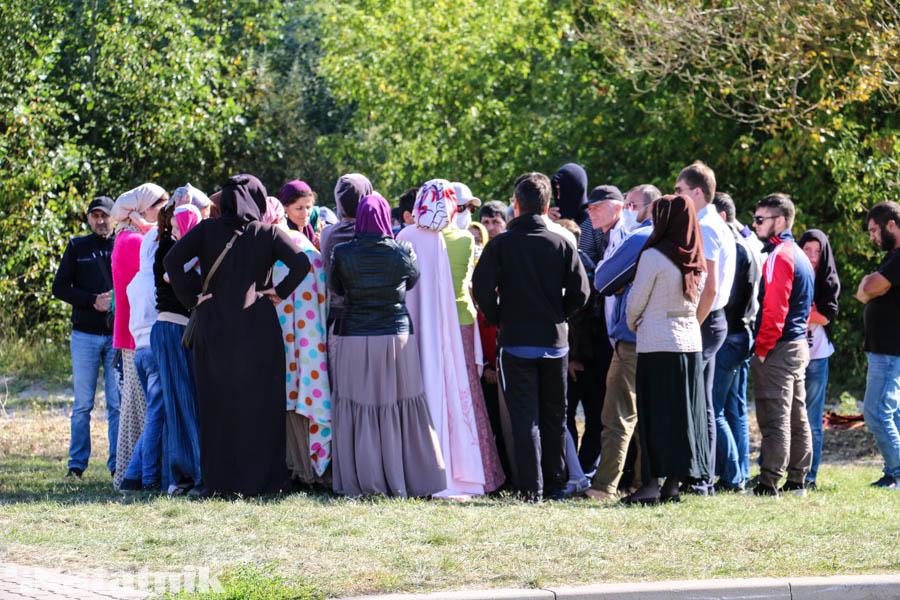чеченские беженцы в Бресте, беженцы