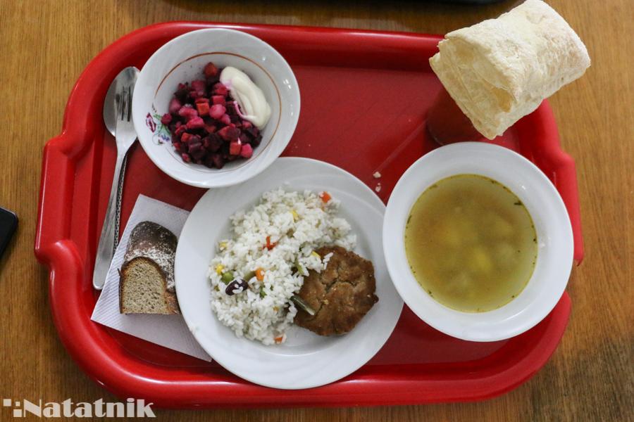 обед, еда, столовая