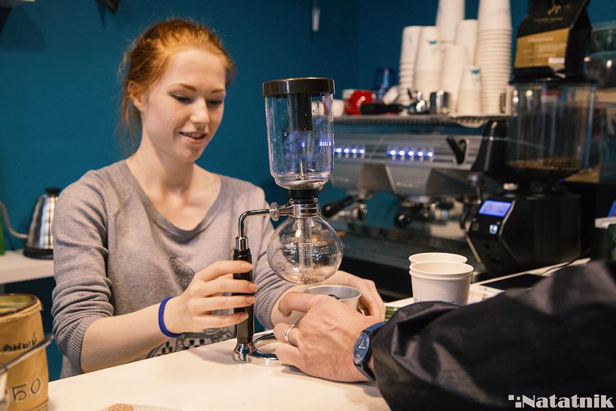 Сифон - прибор для заваривания кофе, альтернативный кофе