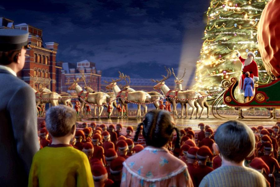 Полярный экспресс, рождество, фильм, настроение