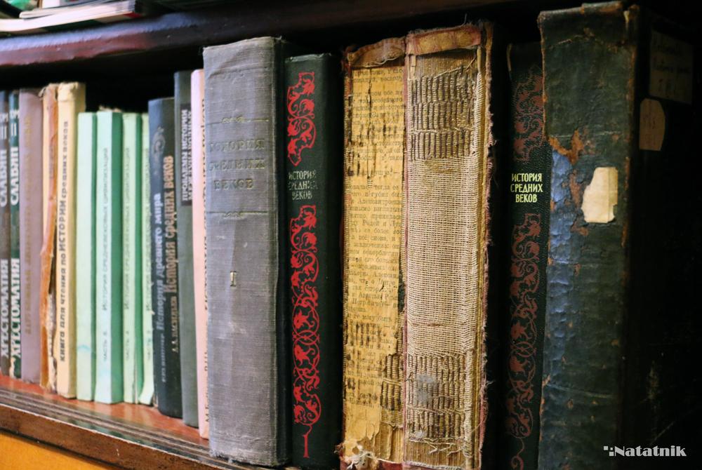 Домашняя библиотека, книжные полки