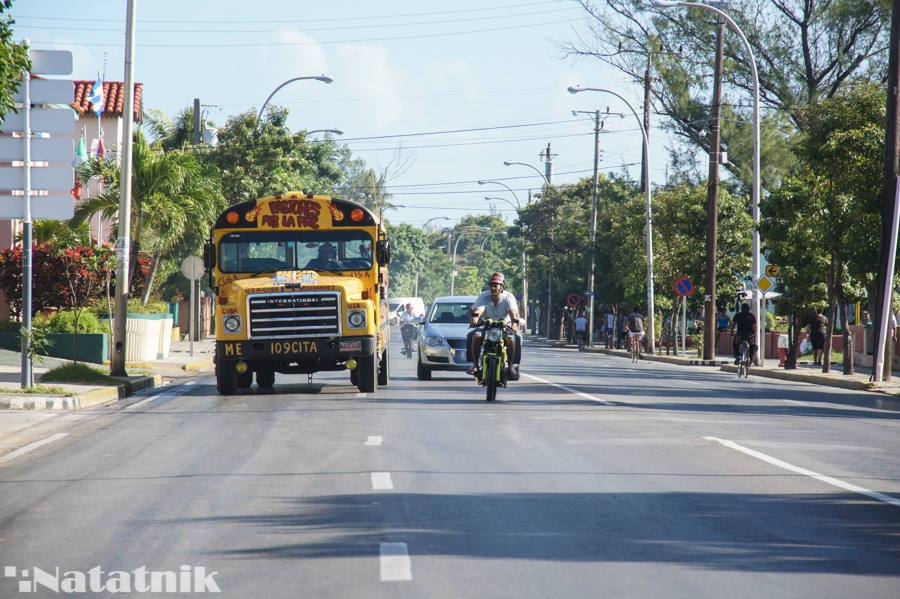 Школьный автобус, Куба, Остров свободы