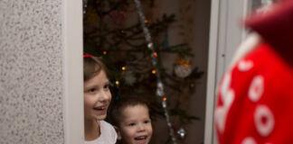 дети, Новый год, подарки, Дед Мороз