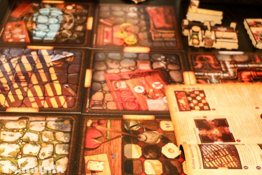 настольные игры, о мышах и тайнах