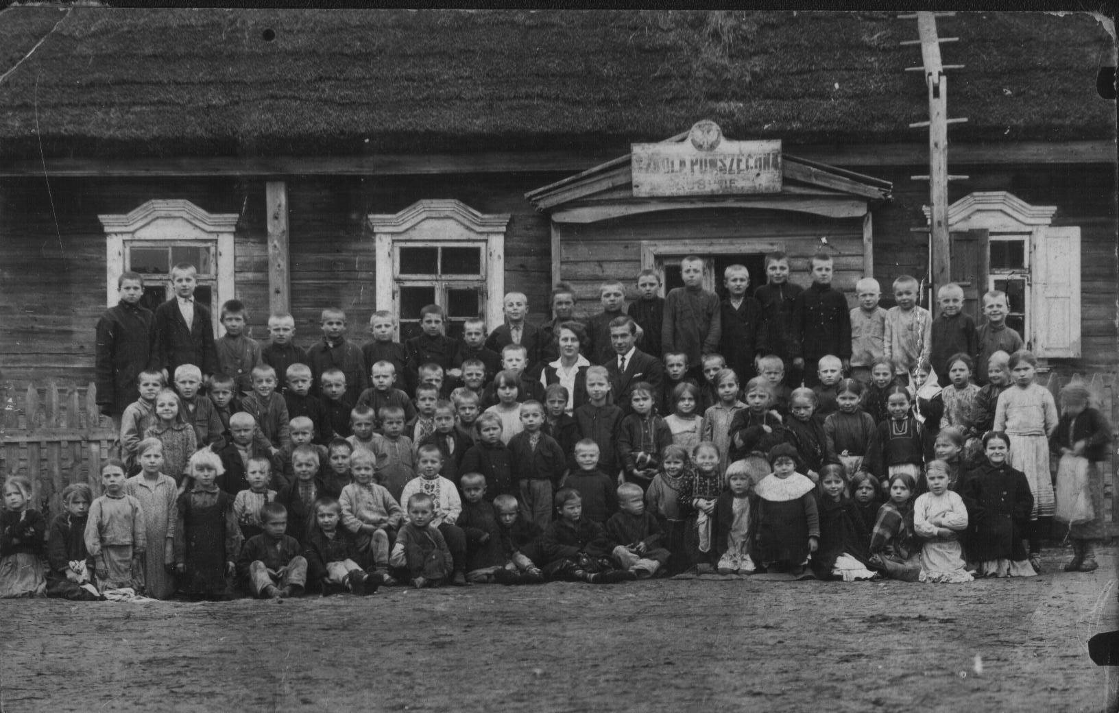 воспоминания, оккупация, за польских часув, школа
