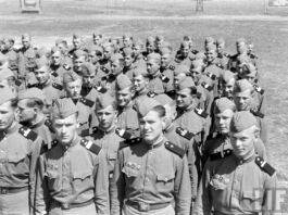 Советская армия, солдаты