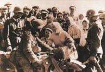 Западная Беларусь, встреча немцев, 1939 год