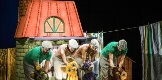 Театр кукол, Брест, спектакль, актёр