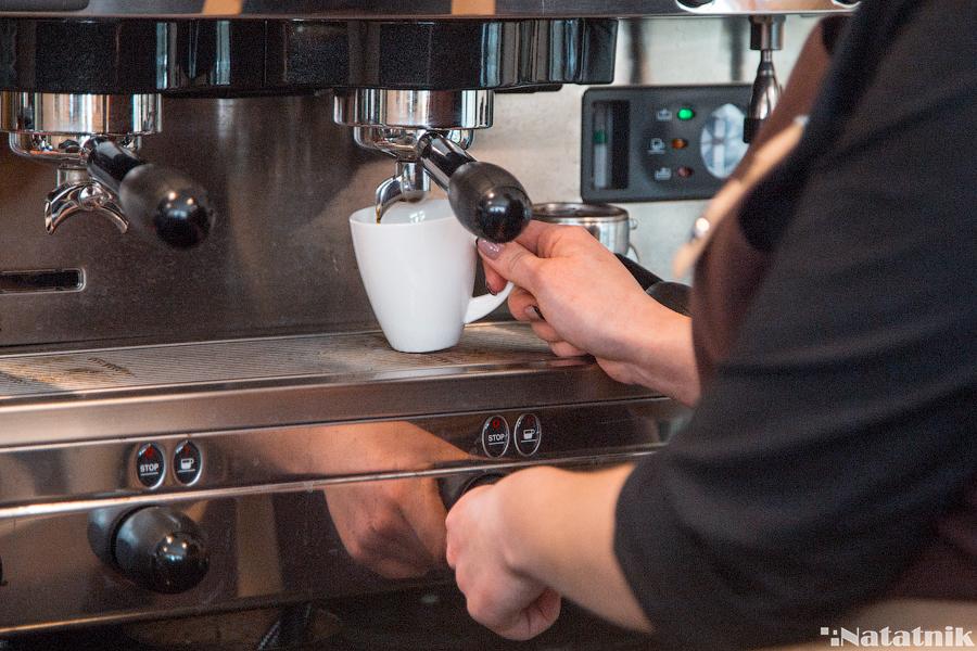 кофе, бариста