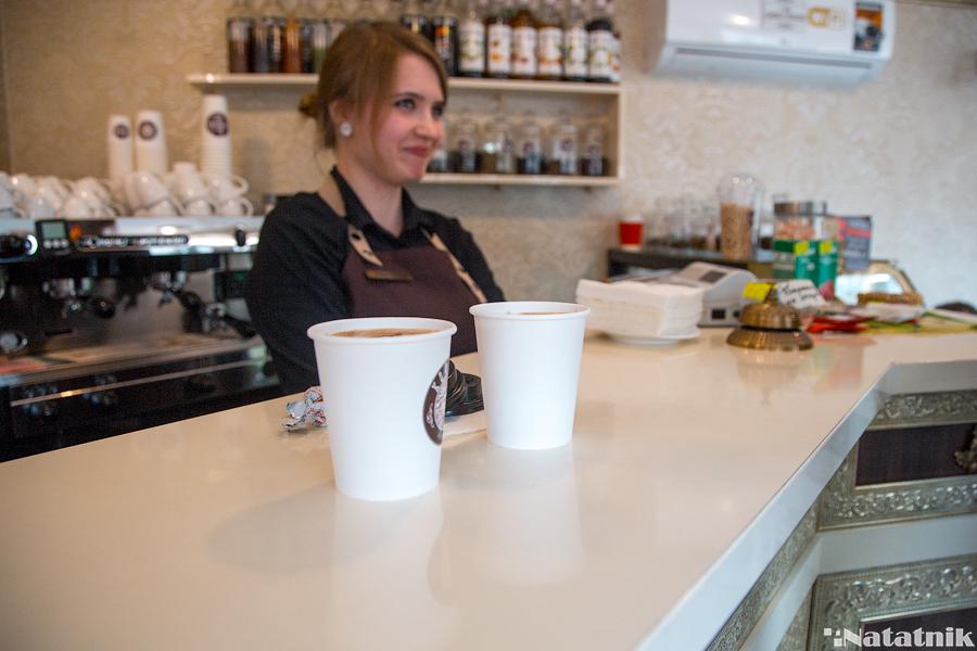 бариста, кофе