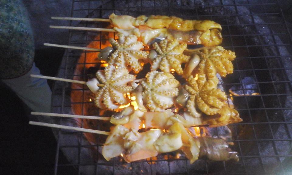 Еда, осьминоги, Таиланд, Тай, Паттайя, Как там жить
