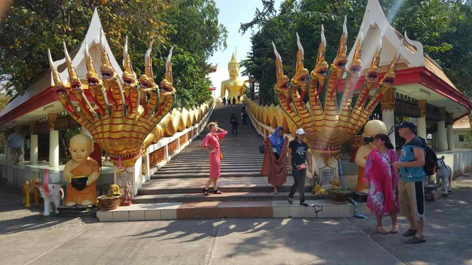 Таиланд, Тай, Паттайя, Как там жить, храм большого Будды