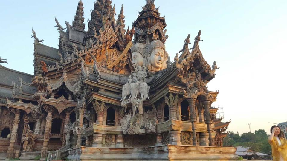 Таиланд, Тай, Паттайя, Как там жить, Храм истины