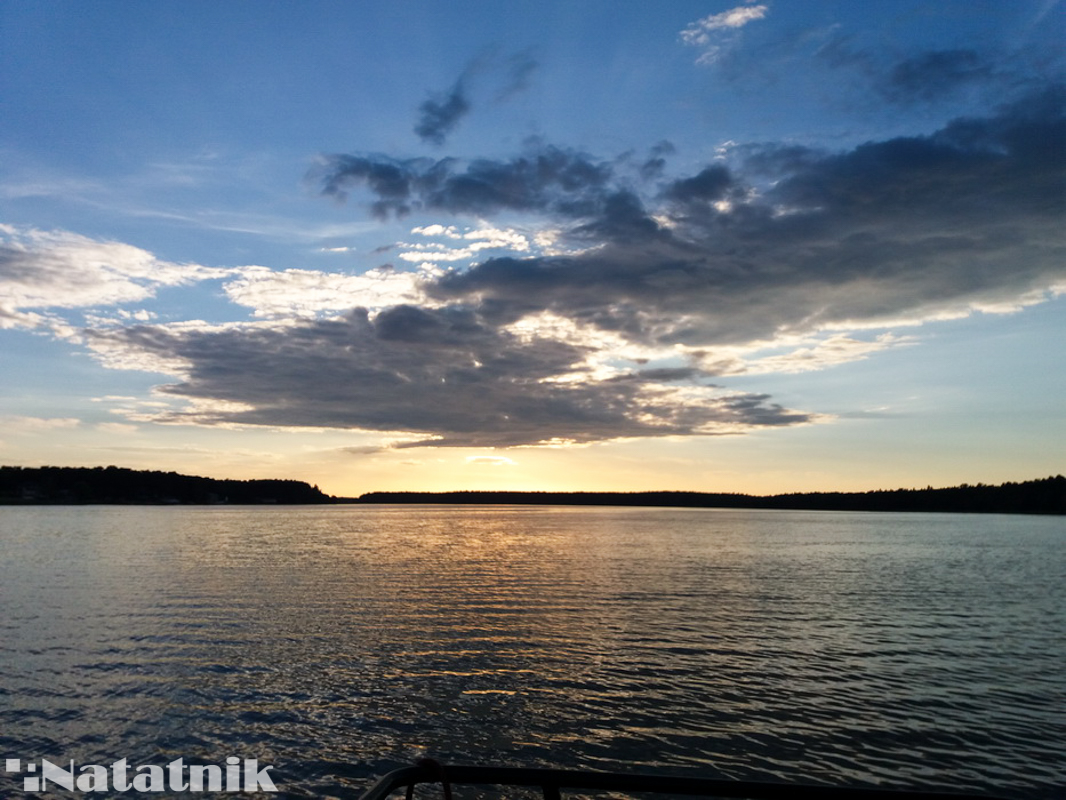 Закат на реке Нетта