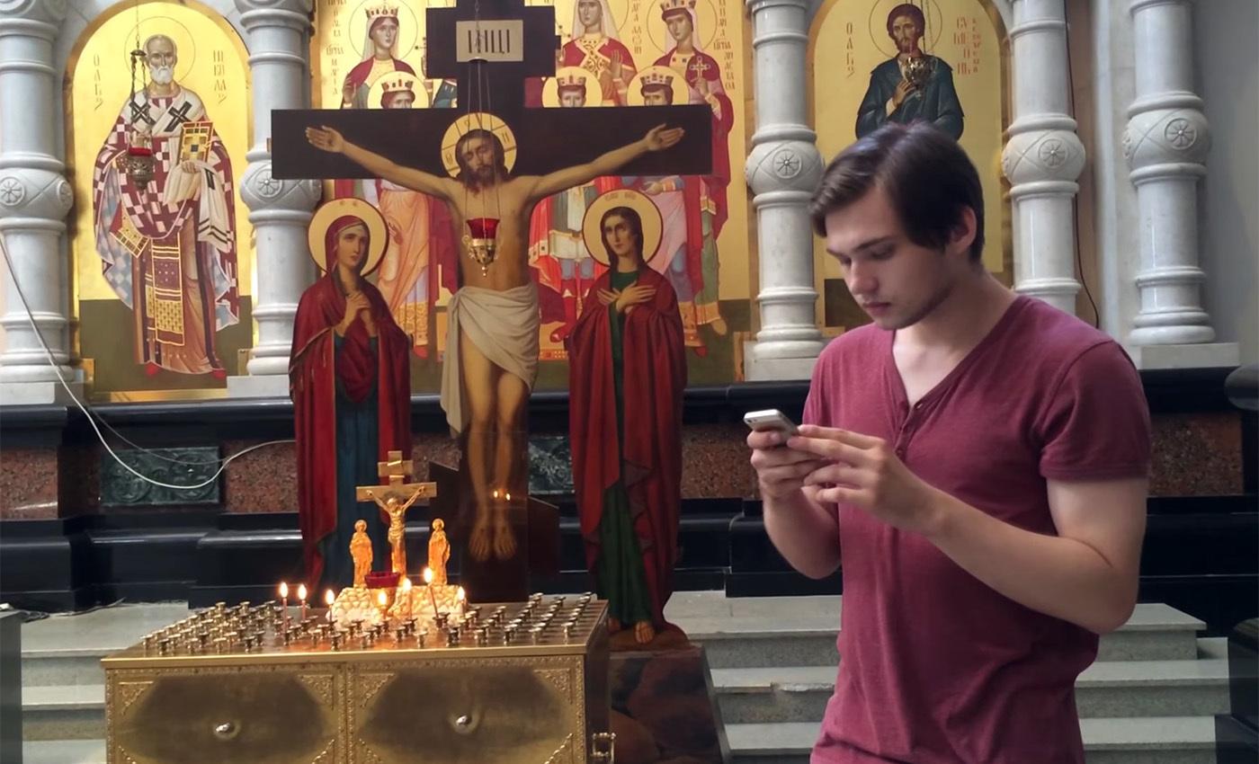 Соколовский в храме, Руслан Соколовский