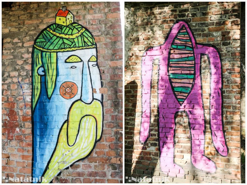 стрит-арт в Бресте, рисунок, стена, символ, предок