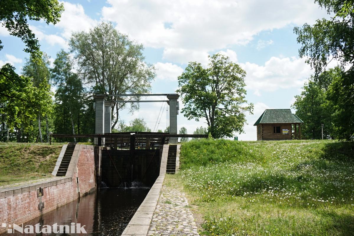Шлюз в Нямнова, шлюз, Августовский канал