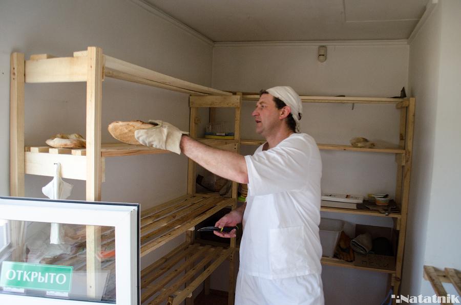 грузинский хлеб, шоти, тандыр