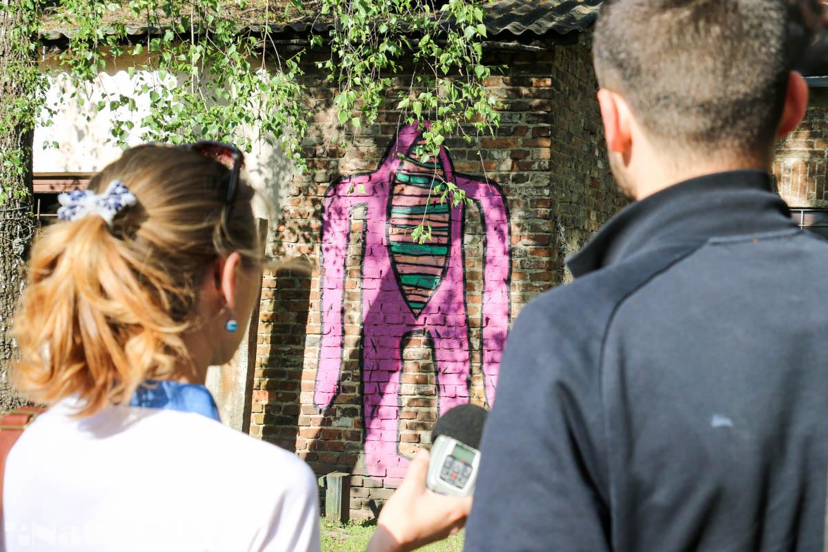 стрит-арт в Бресте, стена, рисунок