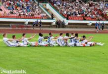 Динамо Брест, празднование гола