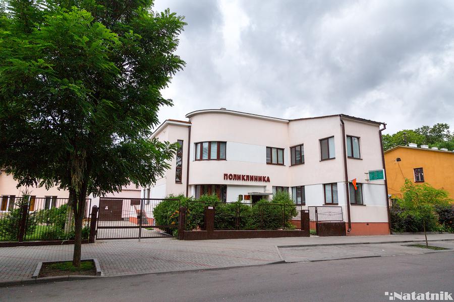 Брест, Ефим Басин, улицы Бреста, площадь Свободы, дом польского периода, поликлиника
