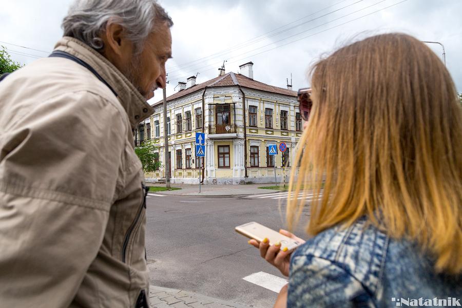 Брест, Ефим Басин, улицы Бреста, площадь Свободы, старые дома Бреста