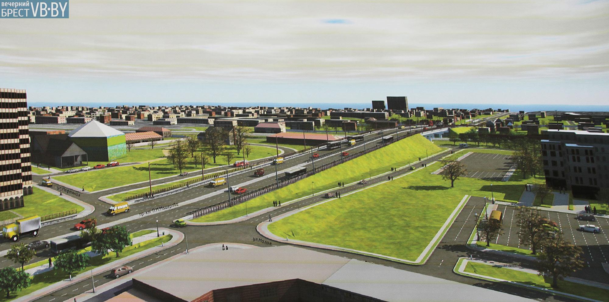 Проект реконструкции Кобринского моста