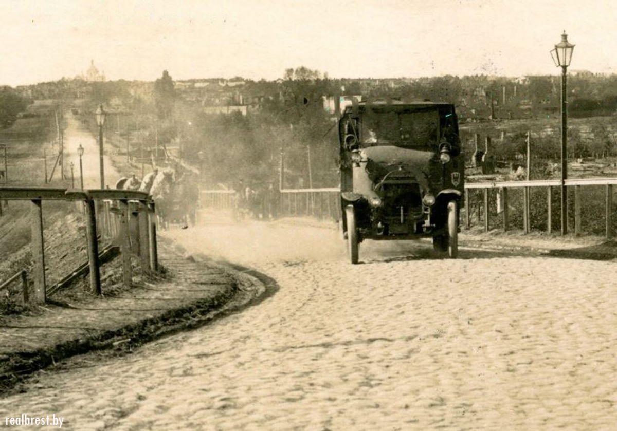 Кобринский мост, Брест, старые фото
