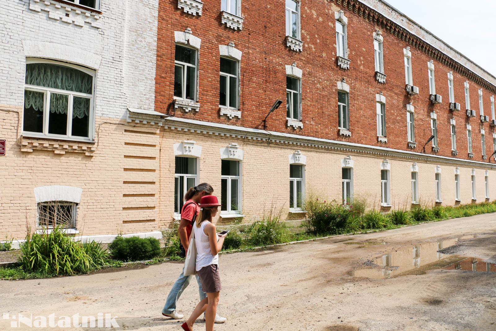 Берёза, красные казармы, тюрьма