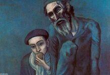 Staryiy-evrey-s-malchikom-Pablo-Pikasso-1903