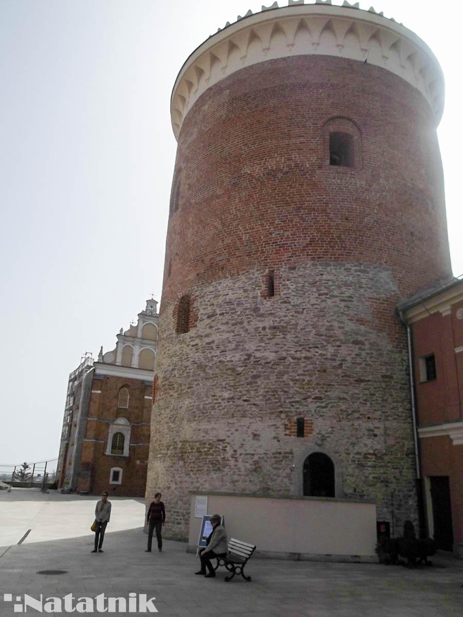 Башня в Люблине