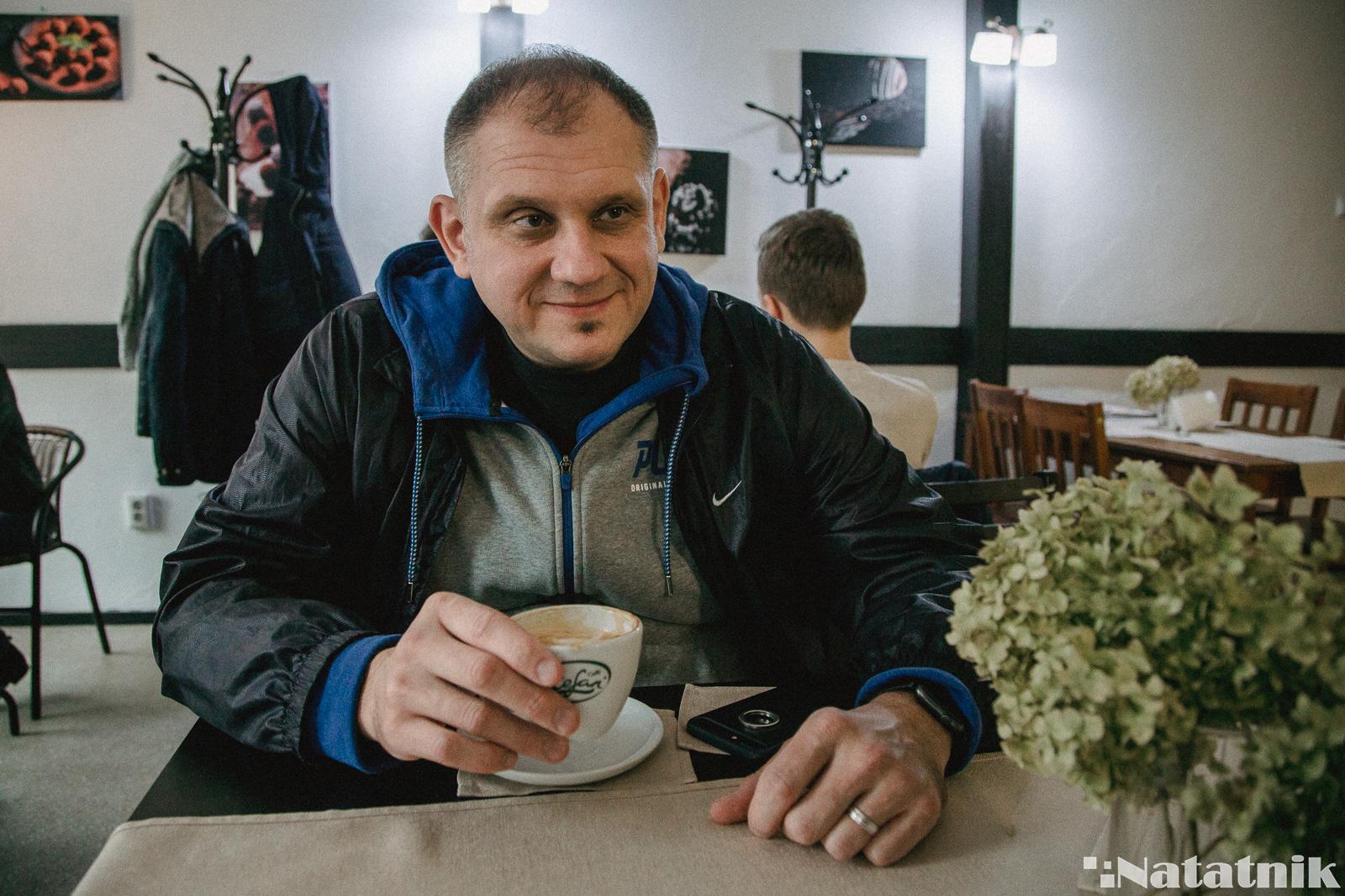 кофейный эксперт, Пётр Семенюк