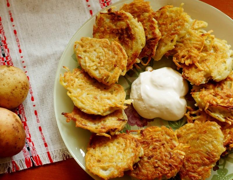 Беларуская кухня, правильное питание, драники