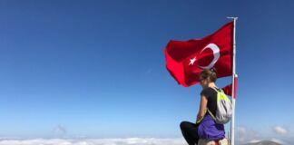 Самая высокая точка на горе Улуда город Бурса