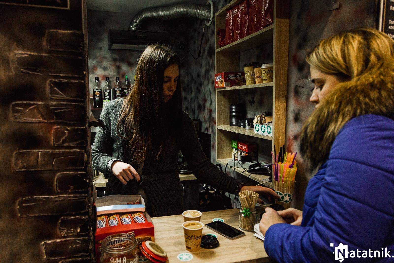 кофейный брест, кофе, американо