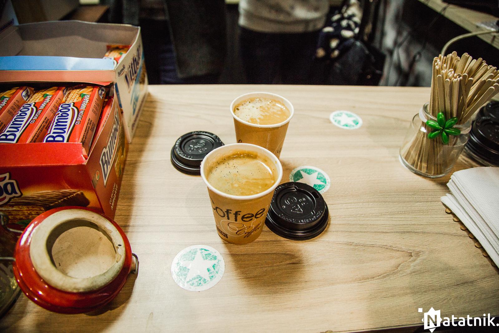 кофейный брест, американо
