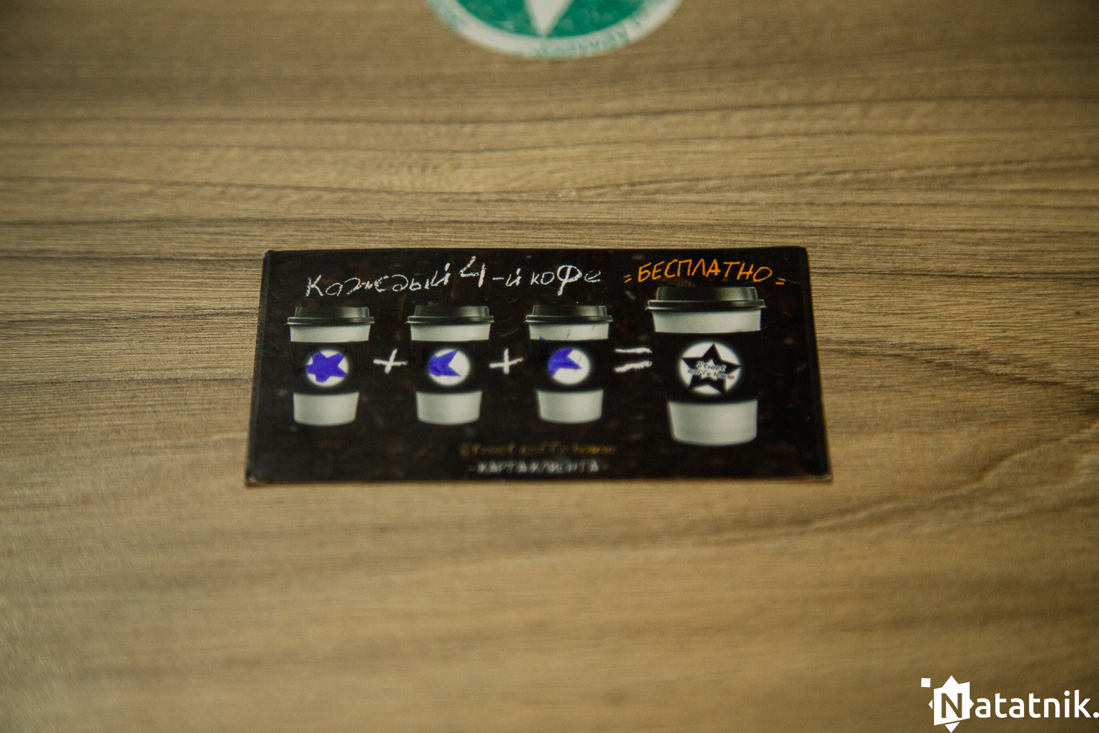 кофейный брест, кофе, карта гостя
