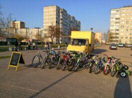 велосипед, Брест, прокат
