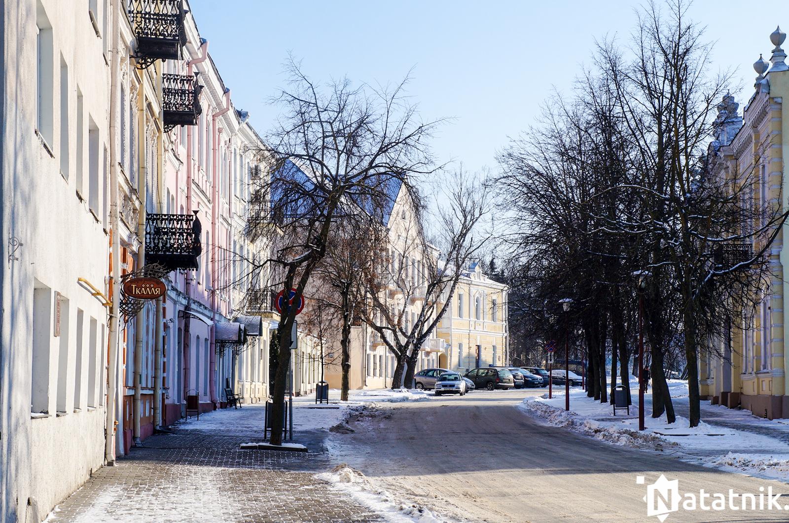 улица Замковая, Гродно