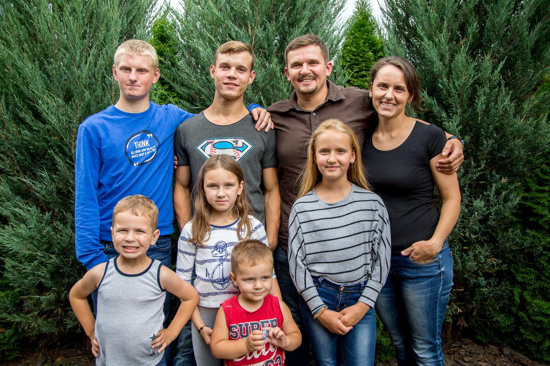 Семья Зданевичей Брест