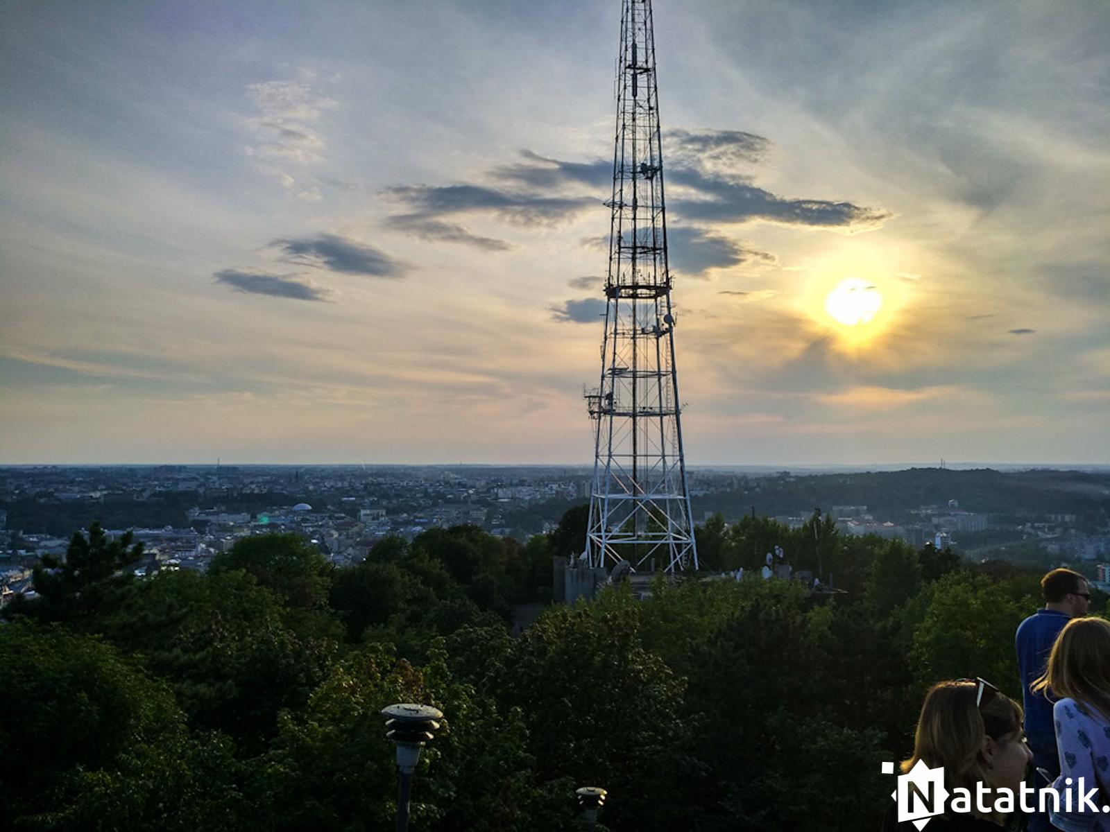 Самая высокая точка Львова