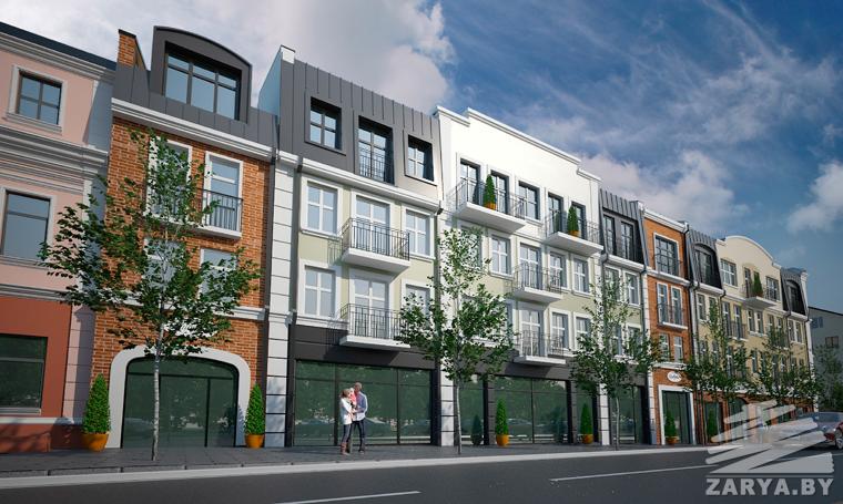 Проект нового квартала в центре Бреста