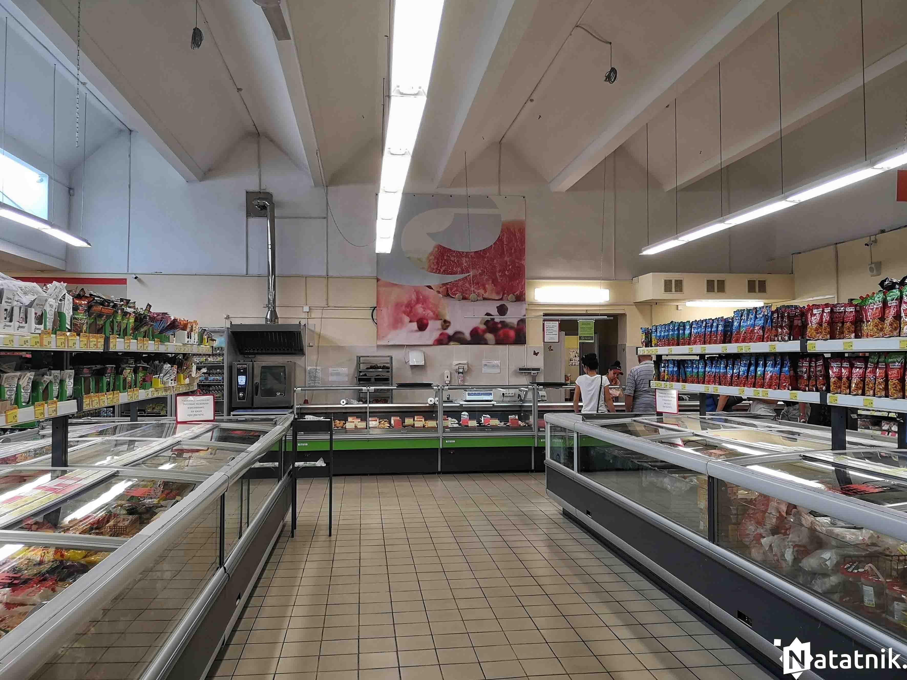 супермаркет, Брест, кулинария