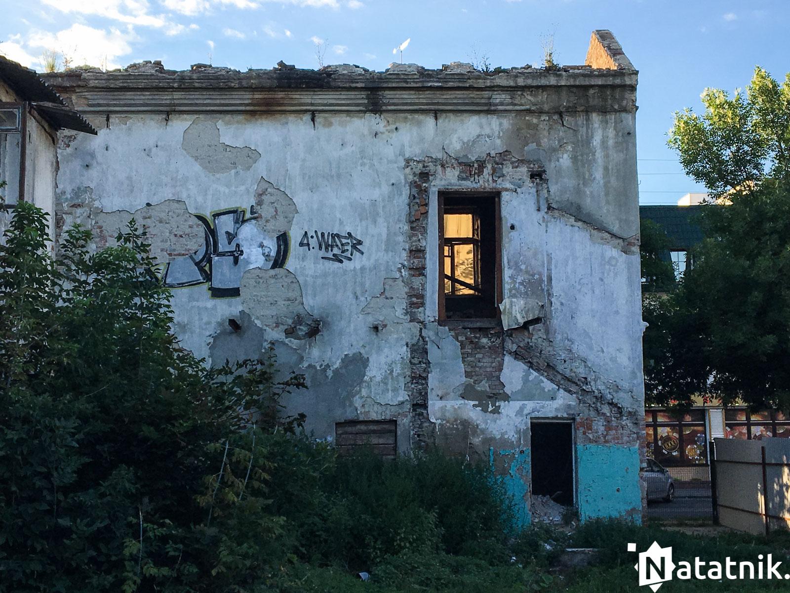 Дом на дзержинского 39, заброшенный дом