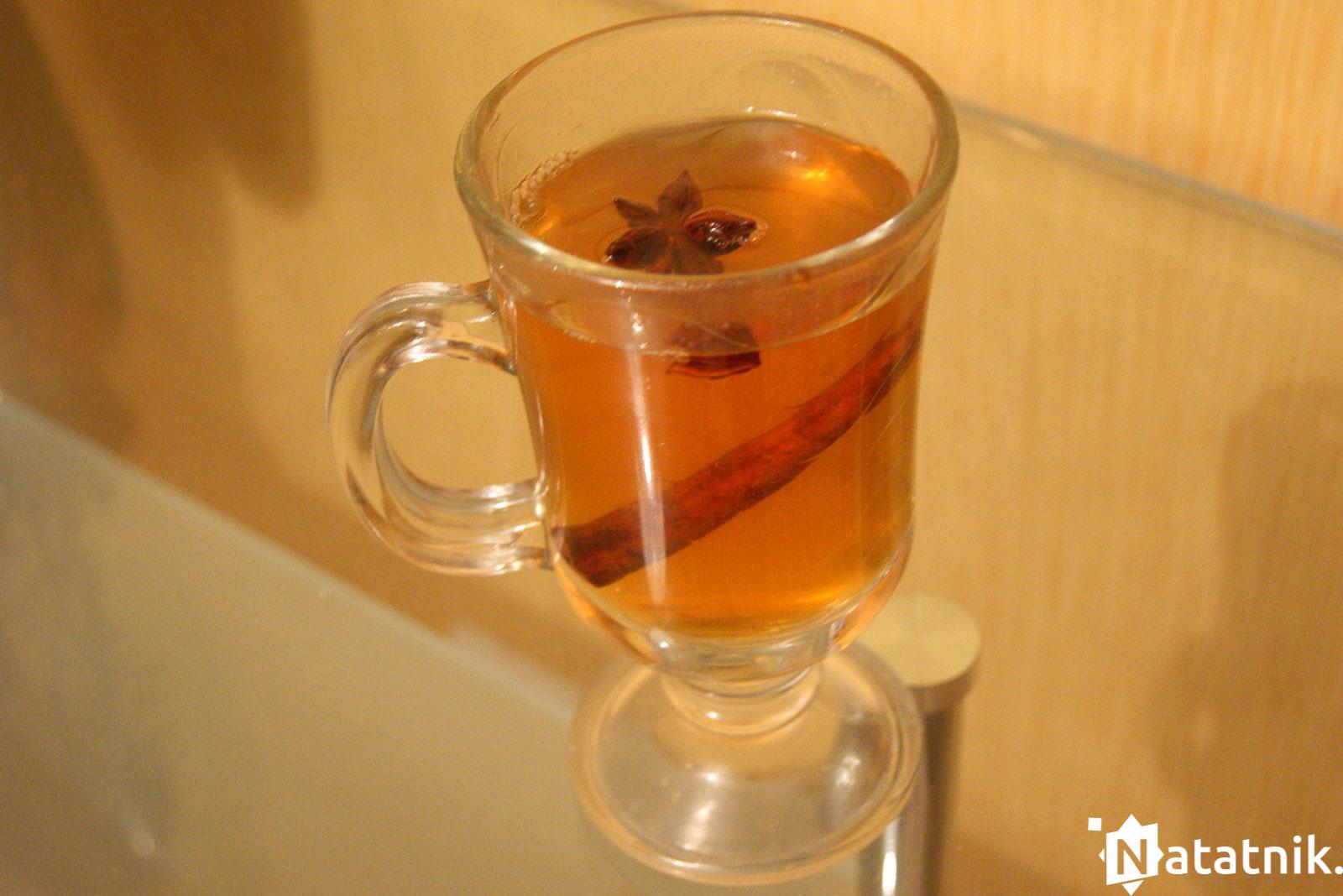 осень чай