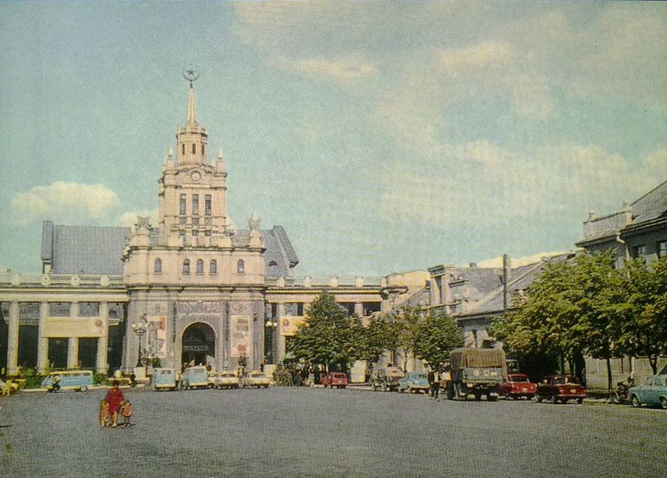 Вокзал Брест 1974