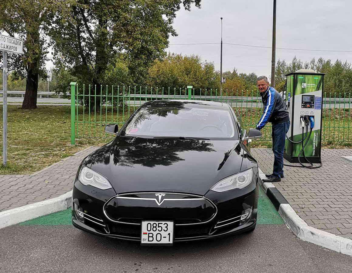Юрий и его Tesla